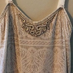 RARE Vintage Free People Lace Dress💥